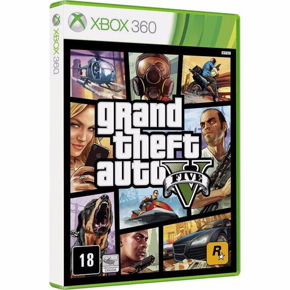 Gta 5 Xbox 360 (mídia Física Novo Lacrado)