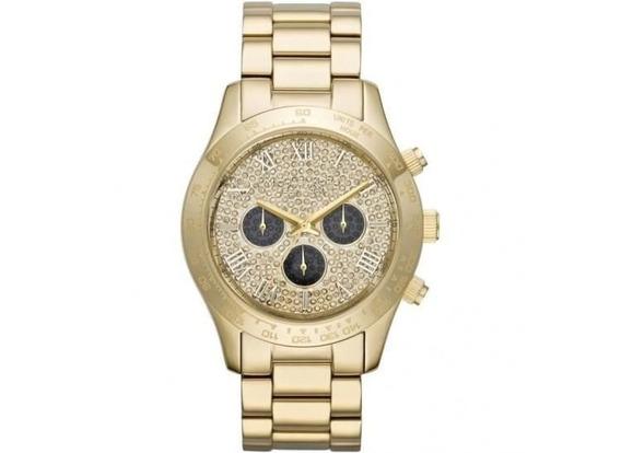 Relógio Michael Kors Mk5830 Layton Dourado 100% Original