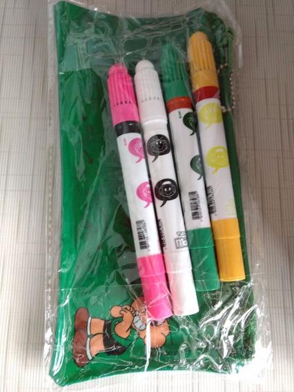 Material Escolar Canetinhas Coloridas