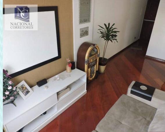 Apartamento Com 2 Dormitórios À Venda, 63 M² Por R$ 215.000 - Jardim Utinga - Santo André/sp - Ap9178