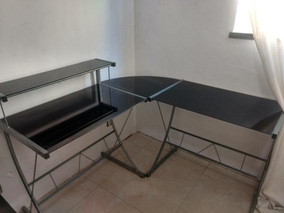 Mesa Para Escritório (vidro Temperado)