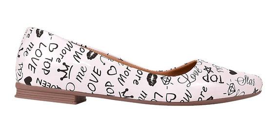 Sapatilha Sapato Feminina Chiquiteira Chiqui/5317