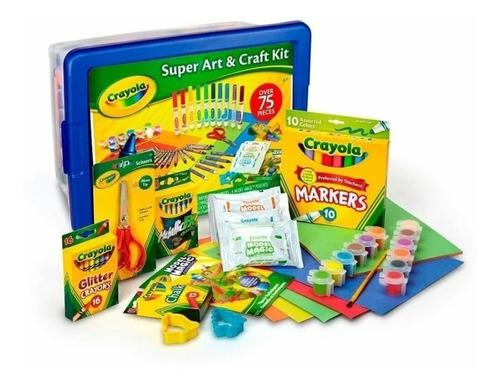 Crayola Super Art And Craft Kit De 75 Piezas. En 55 Vrds.