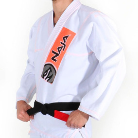 Kimono New Colors - Naja - Tam:a4 - Branco/laranja