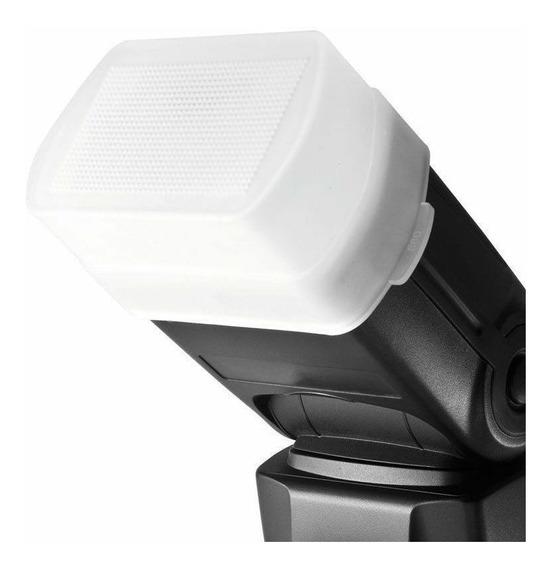 Difusor Flash Encaixar Canon 580ex 568ex 565ex 560ex 530ex