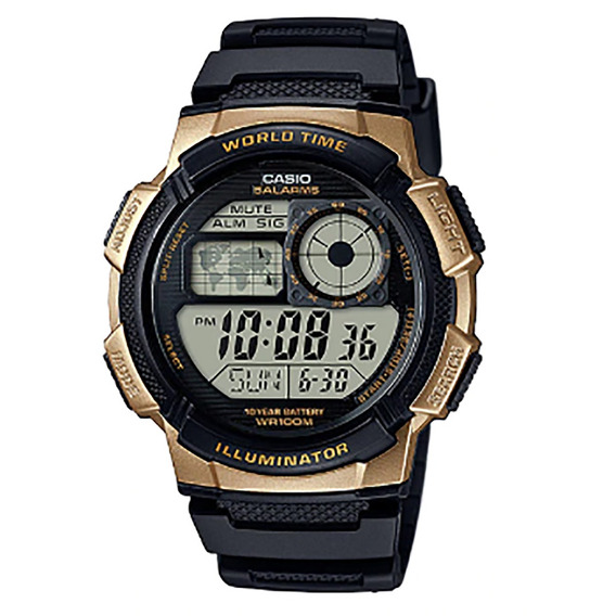 Relógio Casio Iluminator Masculino Ae-1000w-1a3vdf
