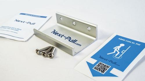 Imagen 1 de 7 de Next-pull, Dispositivo Para Abrir Puertas Con El Pie
