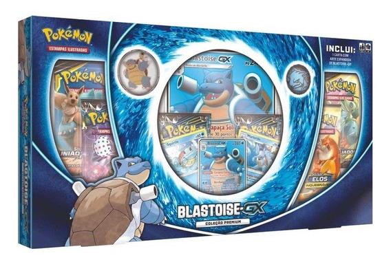 Jogo Pokémon - Box Blastoise-gx - Copag