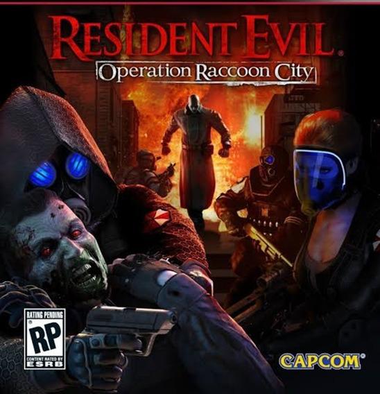 Resident Evil Operation Raccoon City Pc Envio Digital