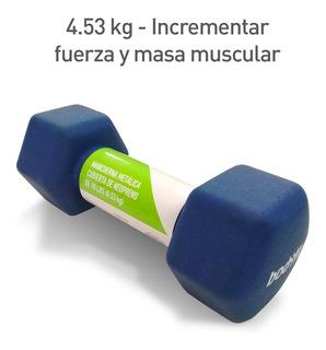 Pesas Mancuernas 1 Pza 10lbs 4.54kg Neopreno Bf-neo10