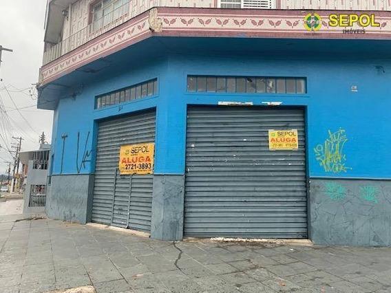 Salão Para Alugar, 80 M² Por R$ 2.490/mês - Jardim São Gabriel - São Paulo/sp - Sl0087