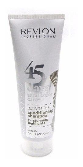 Shampoo 2 En 1 Pelo Mecha Y Blanco Revlon Revlonissimo 275ml