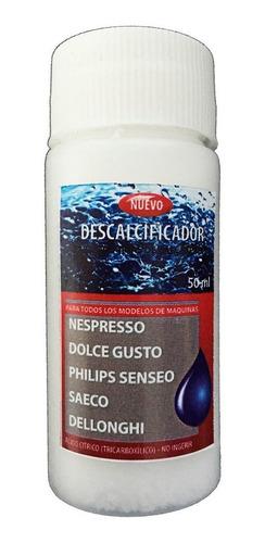 Imagen 1 de 3 de Descalcificador Antisarro Dolce Gusto Nespresso Senseo Saeco