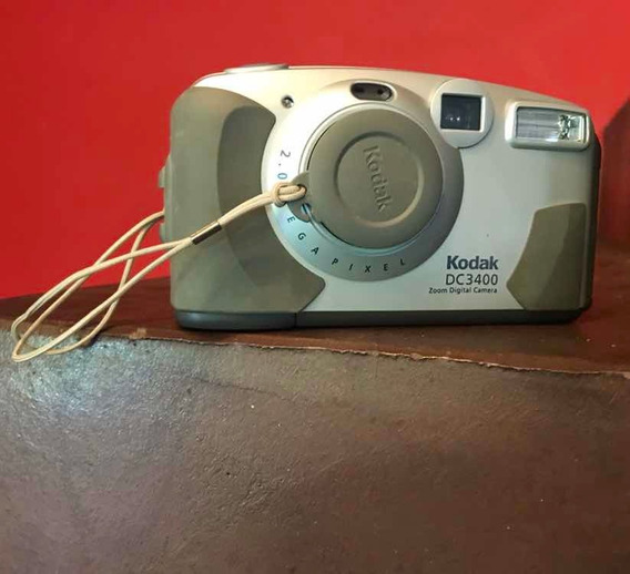 Câmera Digital Kodak Dc 3400 Leia Com Atenção