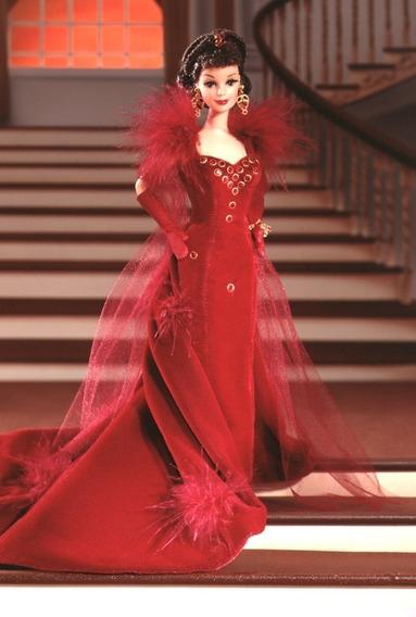 Barbie Collector Red O Vento Levou Scarlett O