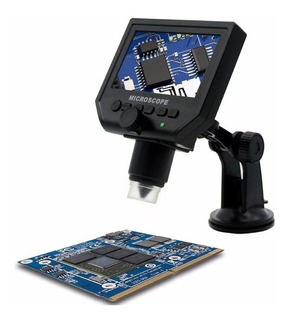Microscopio Portatil Baku Bk 006 , Lcd Touch 600 Zoom!!