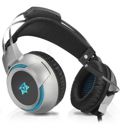 Headset Fone Gamer Para Celular Ps4 Adamantiun Com Adaptador