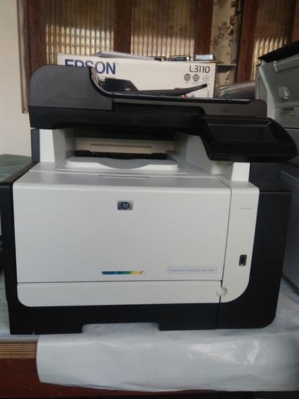 Impressora Hp Laser Jet Pro Cm1415fn Color Mfp