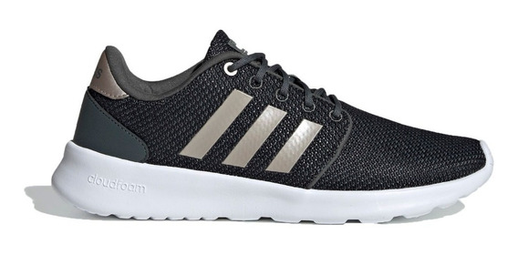 adidas Zapatillas Running Mujer Cloudfoam Qt Racer Gris