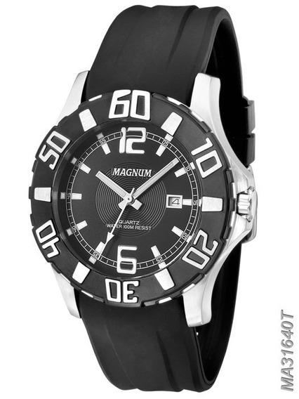 Relógio De Pulso Magnum Masculino Ma31640t