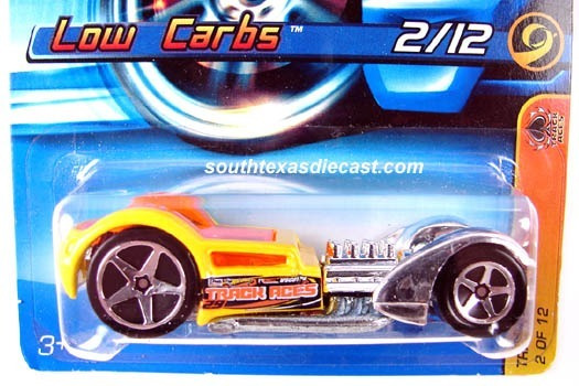 Hot Wheels - Low Carbs - 2006 #112 - Track Stars #02/12