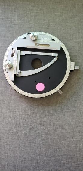 Platina Circular Microscópio Nikon