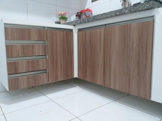 Projeto Cozinha Completa Balcão Pia, Aéreos, Paneleiro, Etc.