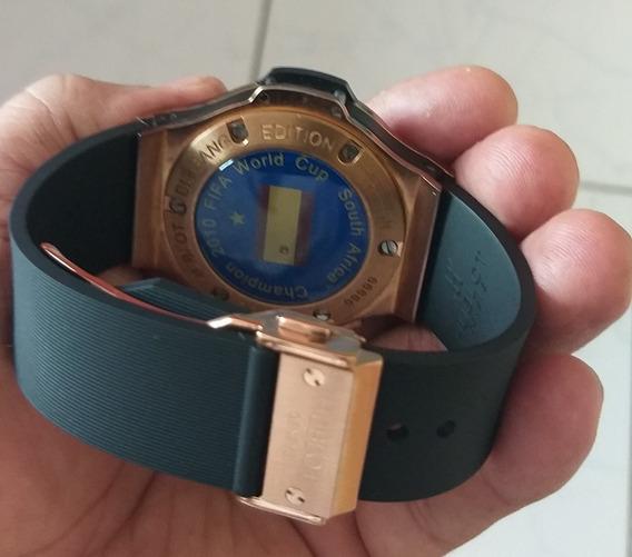 Relógio Hublot, Edição Limitada Rara Copa Da África 2010.