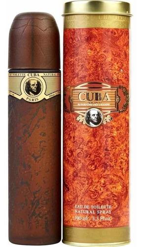 Loción Perfume Cuba Gold 100ml Hombre O - L a $390