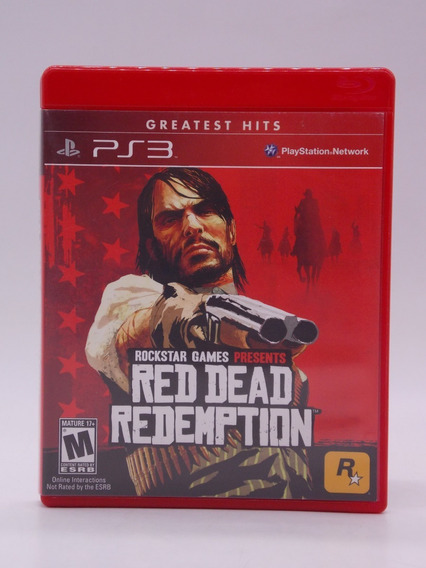 Red Dead Redemption 1 Play Station 3 Original Mídia Física