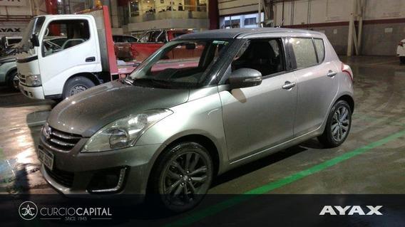 Suzuki Swift Limited 2017 Gris Plata Excelente Estado