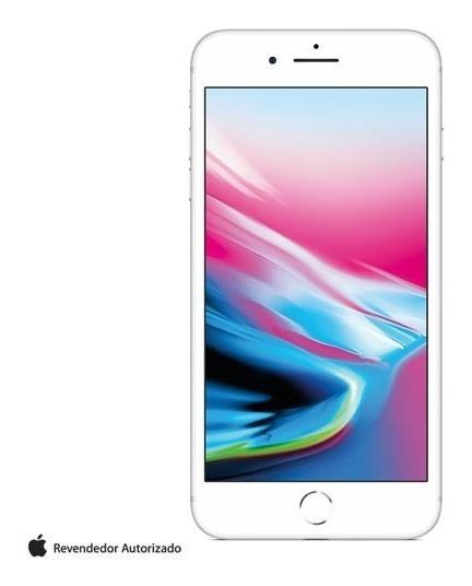 iPhone 8 Plus Prata Tela 5,5 4g 64 Gb Câmera 12 Mp Mq8m2br/a