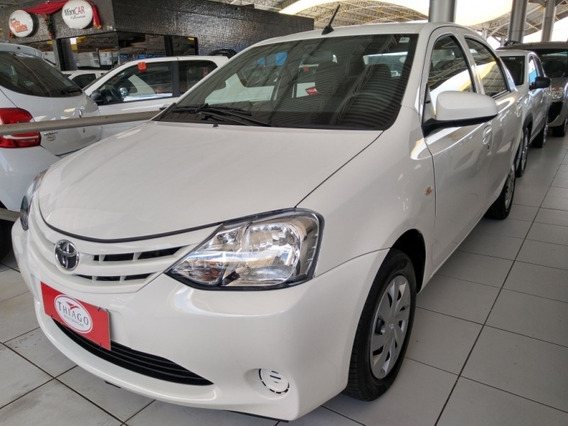Etios 1.5 X Sedan 16v Flex 4p Manual 28566km