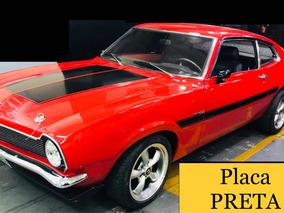 Ford Maverick V8 - Placa Preta