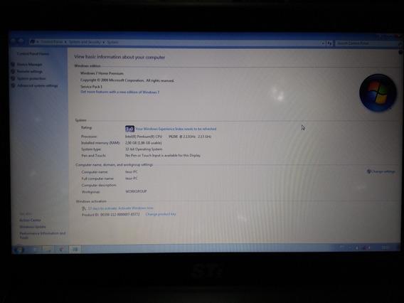 Notebook Toshiba Sti Is1422 Usado Para Tirar Peças