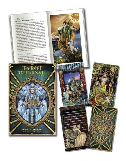 Tarot Illuminati Kit - Livro + Cartas Pronta Entrega Brinde
