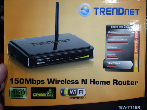 Router Trend Net Wireless 150mbps Wifi Impecable