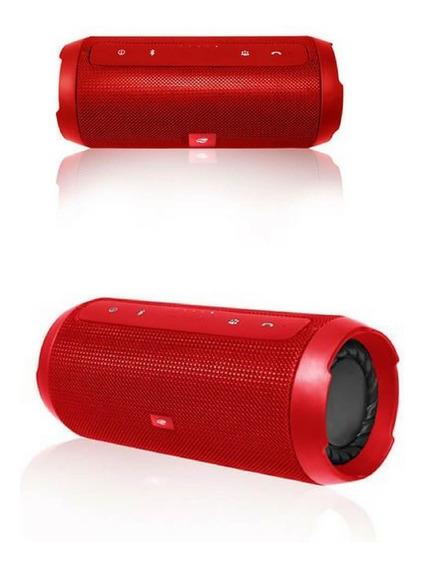 Caixa De Som Bluetooth Pure Sound Sp-b150 C3 Tech - Vermelha