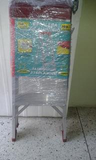 Escalera De Aluminio 3 Tramos Precio 20 Verde$s
