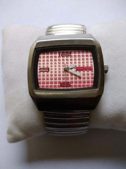 Relógio Original Chilli Beans Quadrado Modelo Grandão