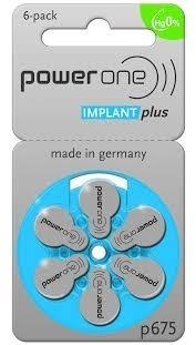 6 Baterias Powerone Implantplus Implante Coclear
