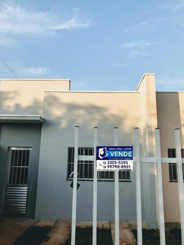 Imagem 1 de 9 de Linda Casa Nova A Venda No Bairro Residencial Astória Em Tatuí - 1252