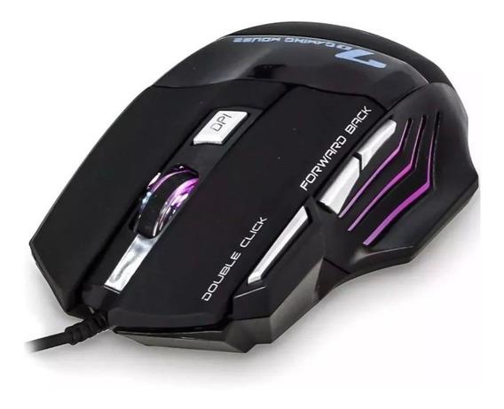 Mouse Gamer Razer 7 Botões X7 Perto Alta Sensibilidade