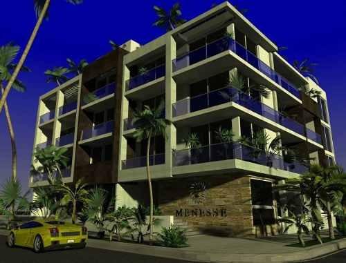 (crm-5832-18) Estudio Menesse Midtown Playa Del Carmen Amueblado