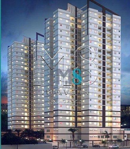 Imagem 1 de 10 de Apartamento À Venda, 84 M² Por R$ 632.031,87 - Loteamento Mogilar - Mogi Das Cruzes/sp - Ap0185