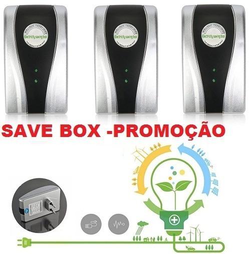 3 Saving Box Reduz Até 40% Energia Elétrica