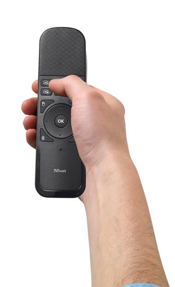 Presentador Inalambrico Trust Puntero Con Touchpad Wireless