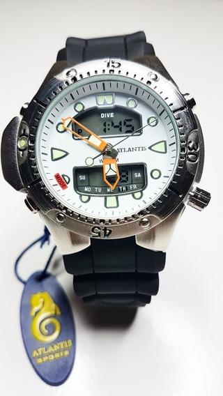 Relógio Atlantis Aqualand Jp1060 White