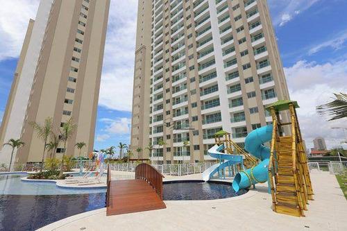 Imagem 1 de 30 de Apartamento Com 2 Quartos À Venda, 55 M², Novo,1 Vaga,  Financia - Fátima - Fortaleza/ce - Ap0712