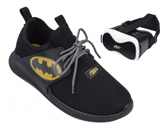 Tênis Liga Da Justiça Batman Com Óculos Frete Grátis